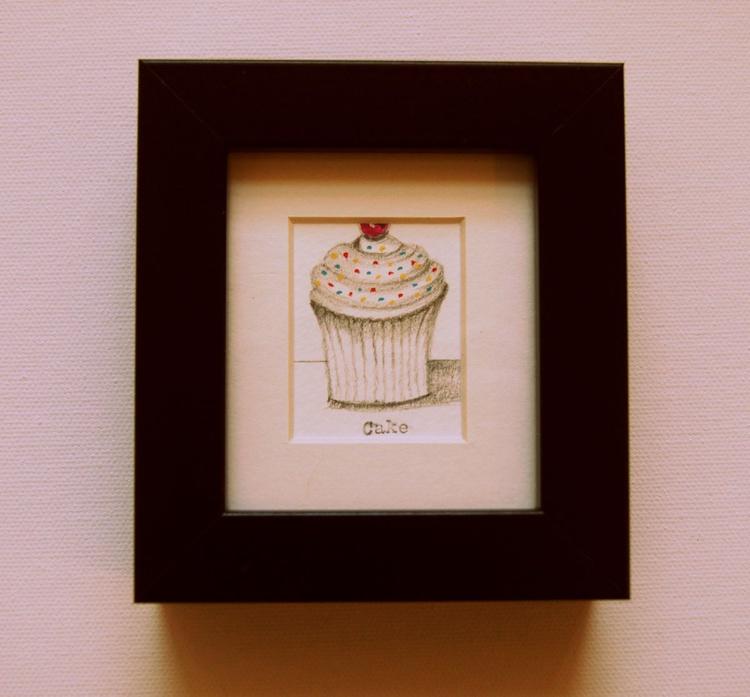 Framed Cake for Me! (miniature).. - Image 0