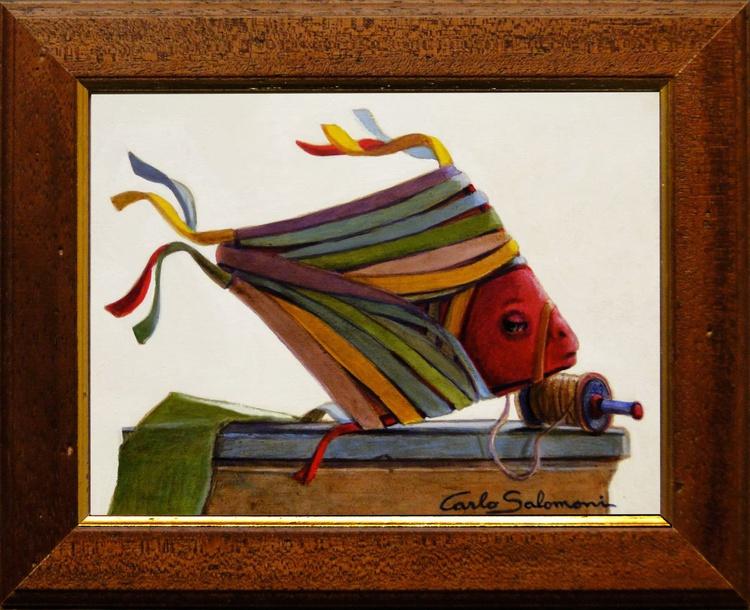 KITE FISH - ( framed) - Image 0