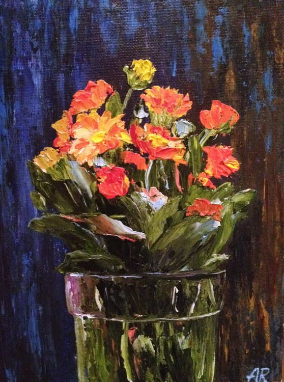 Flowers in a glass - Image 0