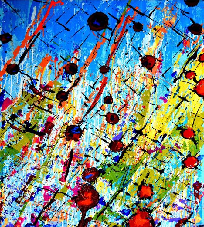 bubbles. 90х110sm - Image 0