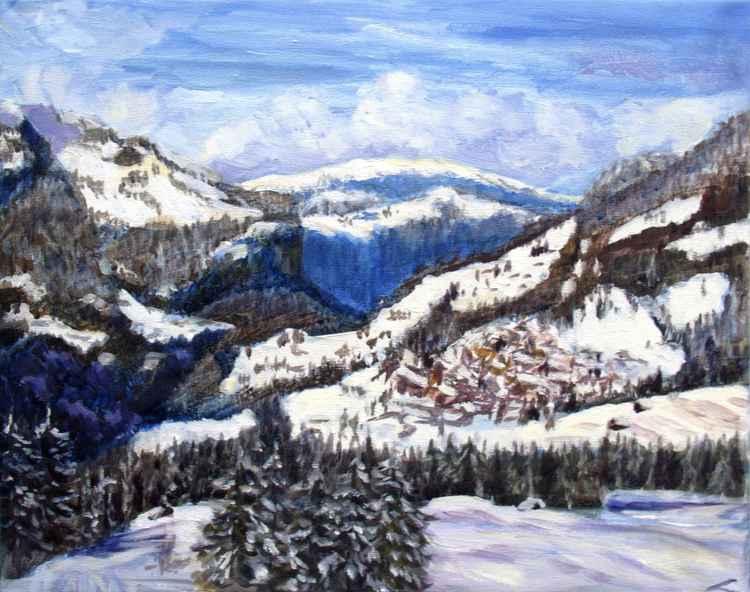 View towards Wengen