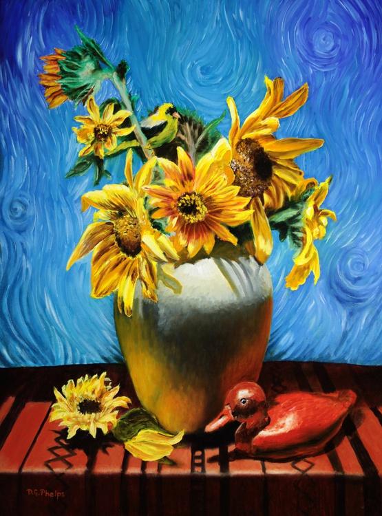 Van Gogh Sunflowers - Image 0