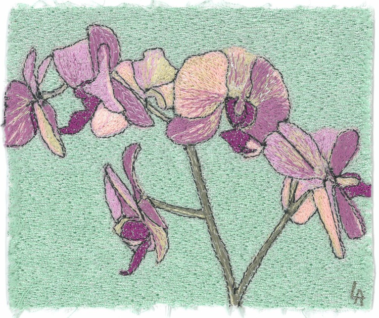 Orchids in pink - Image 0