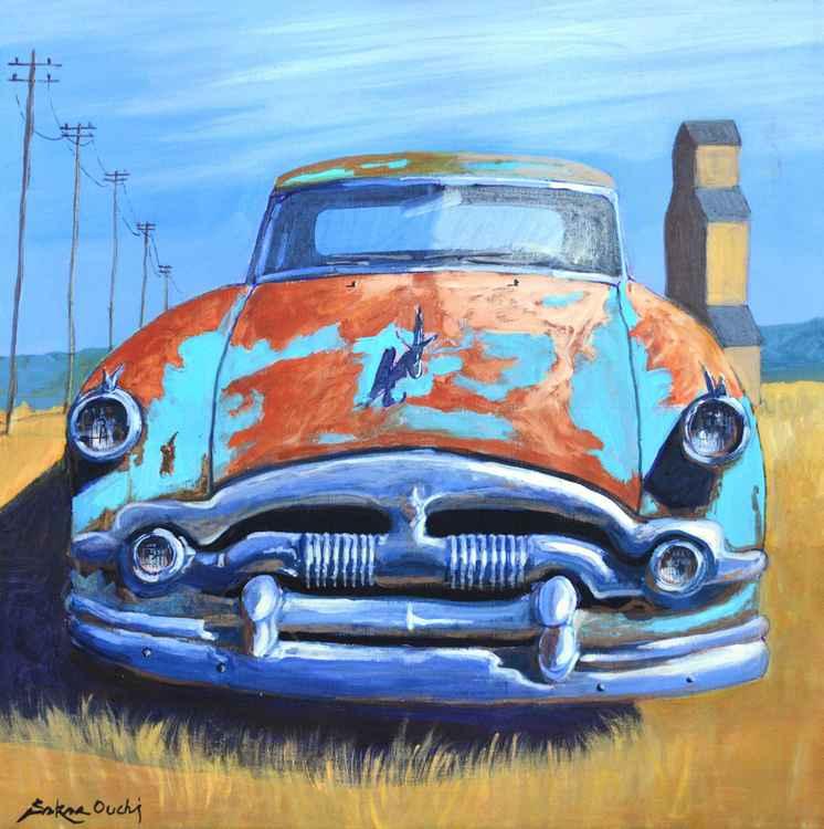 Classic Car in 50's -