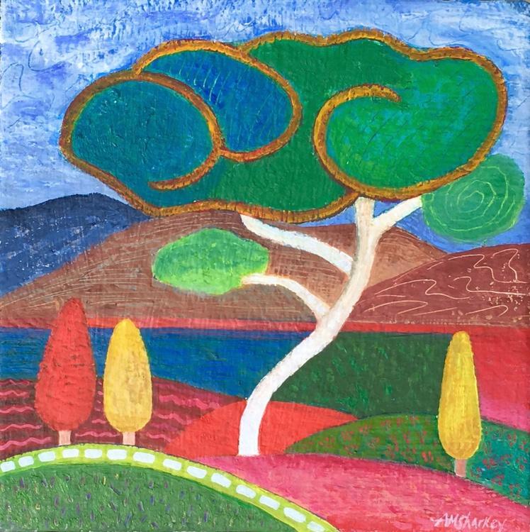 Summer Citrus Landscape - Image 0