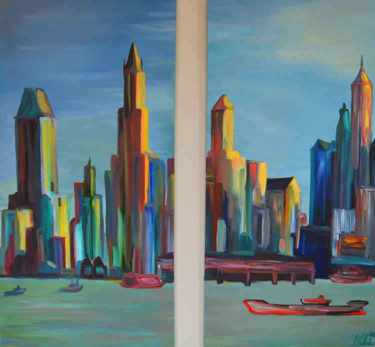 NY Skyline 1930 -