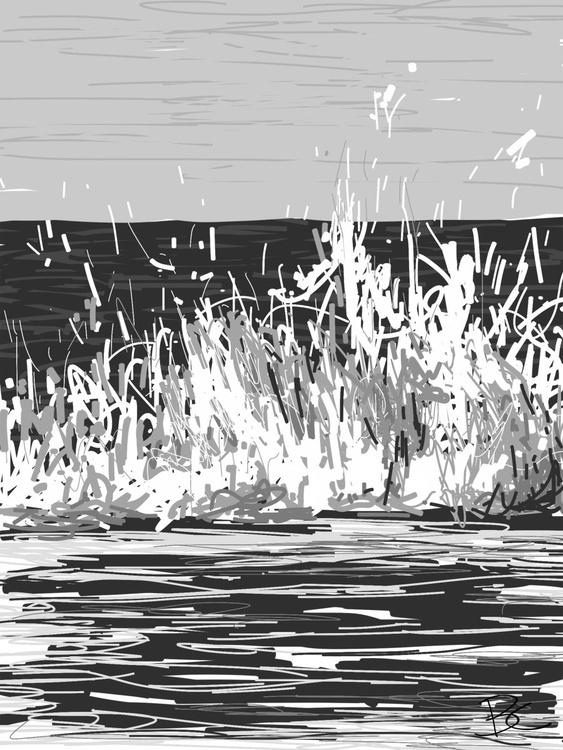 Wave 14 - Drawing - Image 0