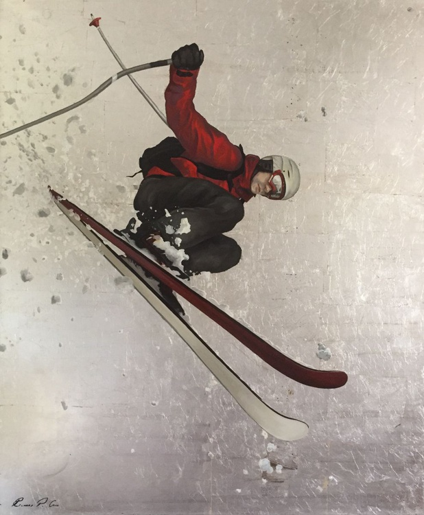 Red Skier - Image 0