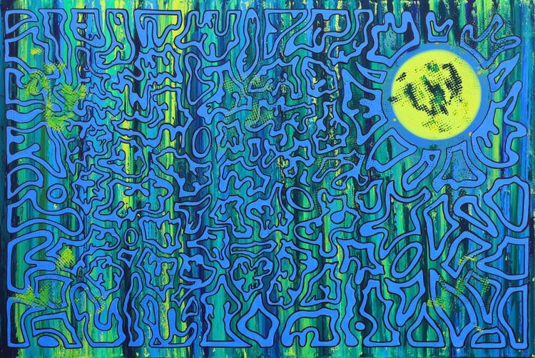 Labyrinth - Extra Large Canvas - Image 0