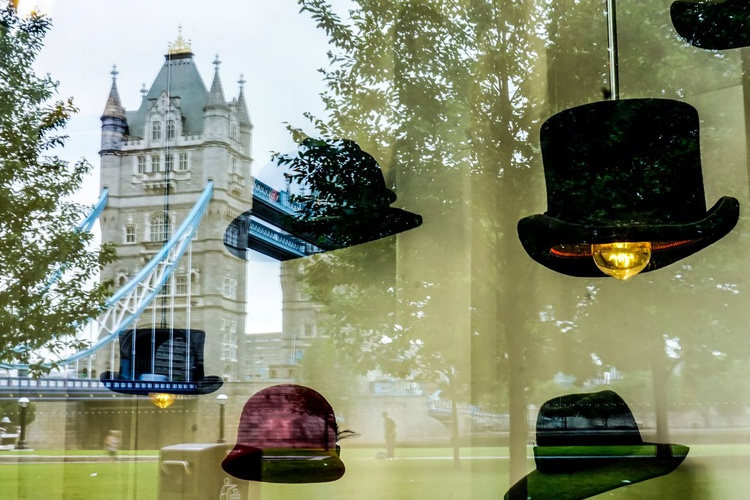 """One city! Lots of HATS ( LIMITED EDITION 1/50) 12""""""""X8"""" - Image 0"""