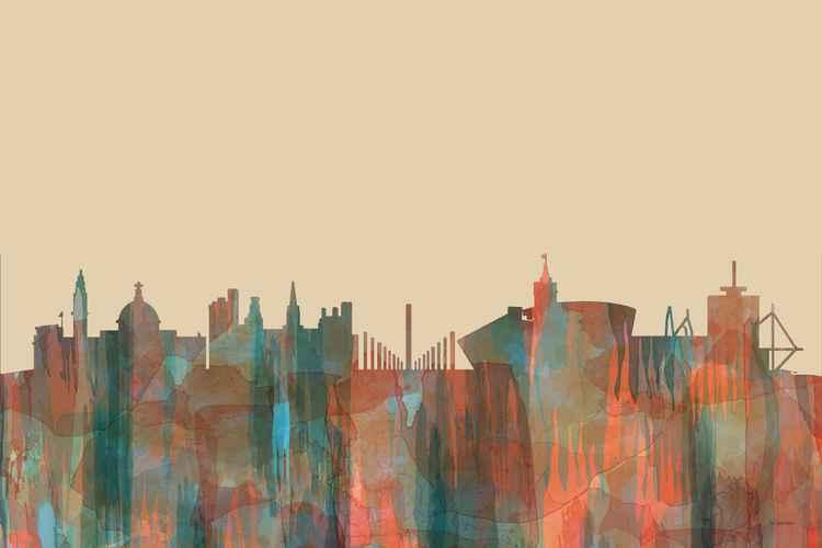 Cardiff, Wales Skyline - Navaho