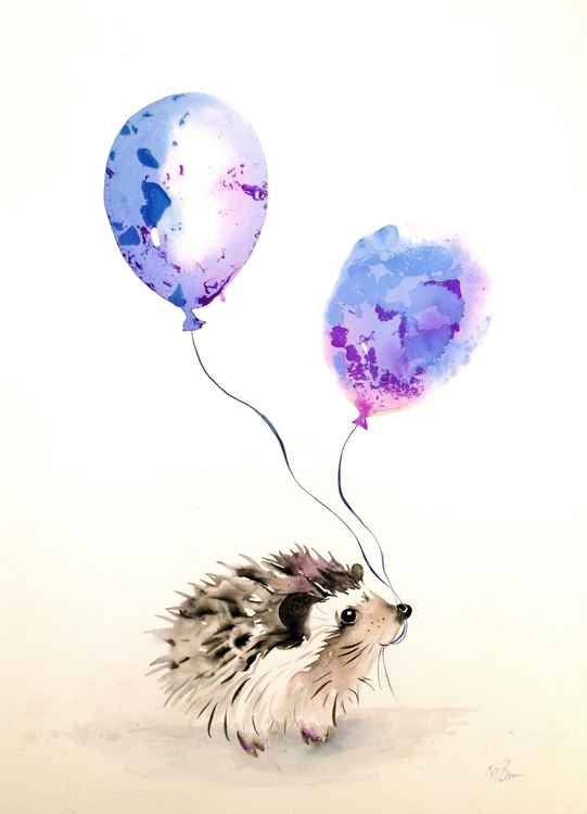 Party hedgehog -