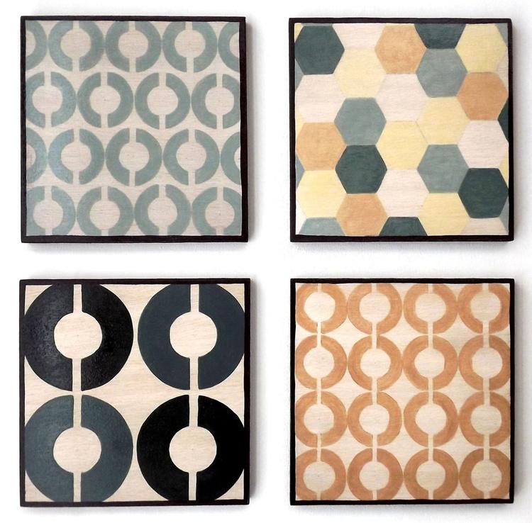 Mid Century Style Geometrics - Image 0