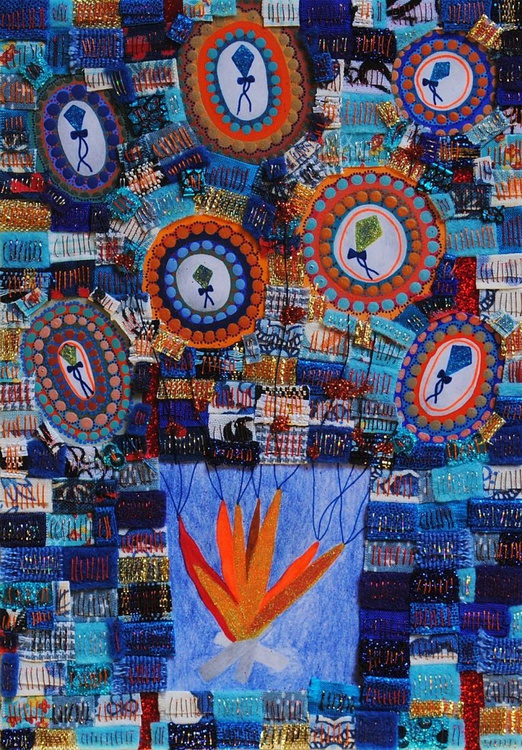 Ashes to Ashes Dust to Dust, colourful artwork - Image 0