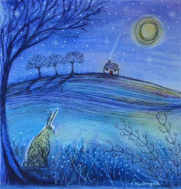 Moon Gazing Hare - Image 0