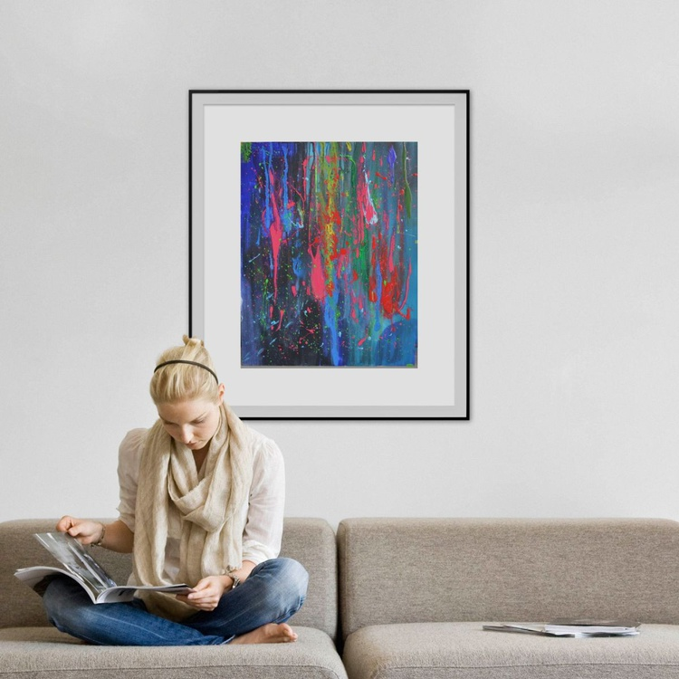 Song of colors (60 * 76 cm, Ready to Hang) - Image 0