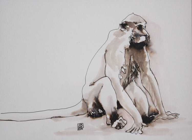 Thoughtful, Supasave Monkey Borneo - Image 0
