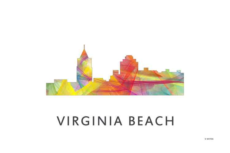 Virginia Beach Virginia Skyline WB1 -