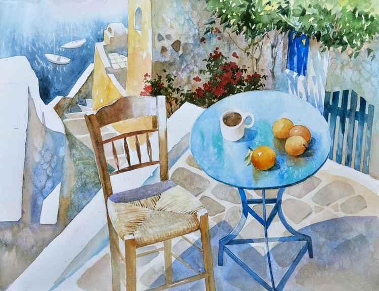 Good morning, Santorini -