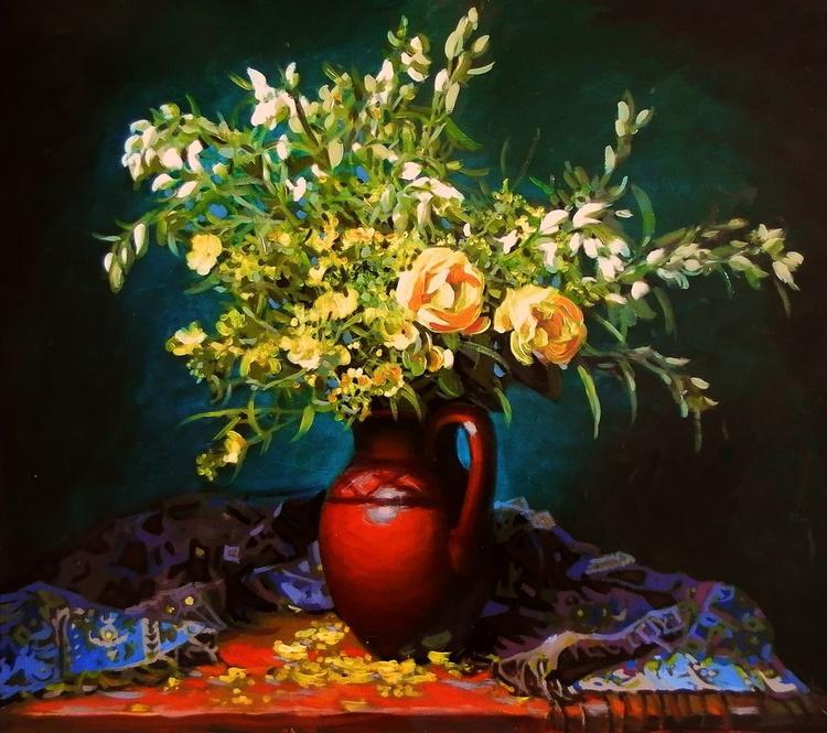 bouquet, 50x45 cm - Image 0
