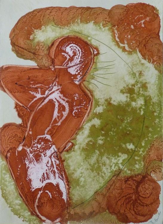 Ink on Paper #280, 42x58 cm - Image 0