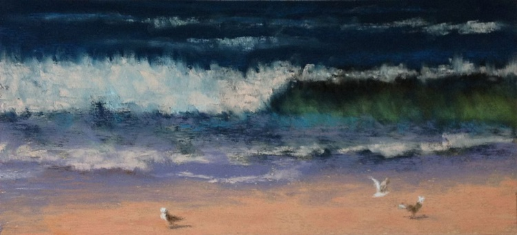 Seagulls And Waves - Image 0