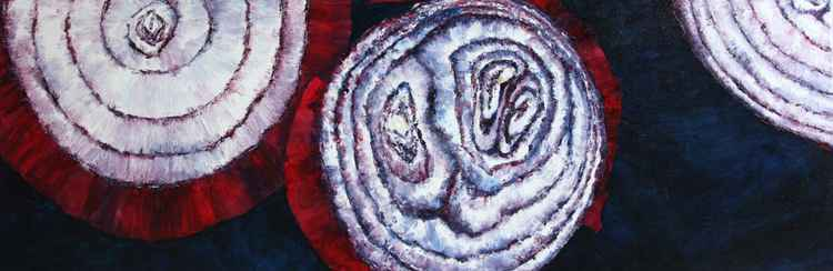 Three Red Onion Rings 2 -