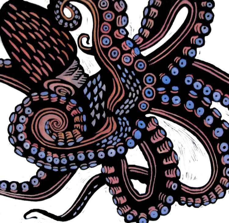 O is for Octopus -
