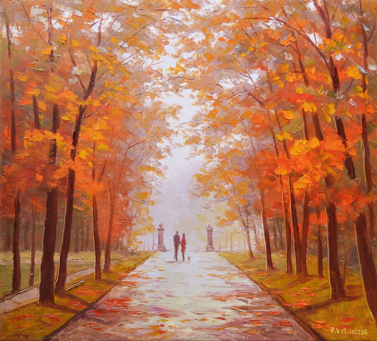 Park in the Autumn - Image 0