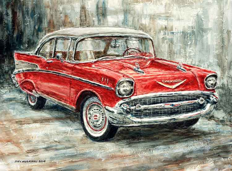 1957 Chevrolet Bel Air Sport Coupe -