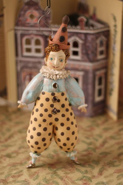 Pierrot, wall object by Elya Yalonetski - Image 0
