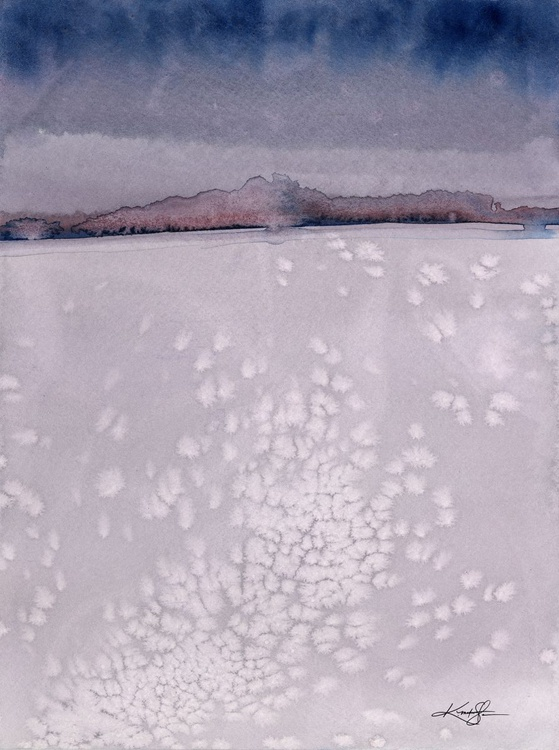 Serene Moments 21 - Abstract Watercolor Painting - Image 0