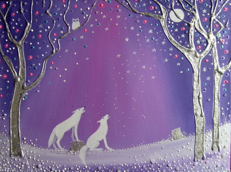 Winter wolves - Image 0