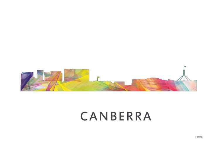 Canberra ACT Australia Skyline WB1