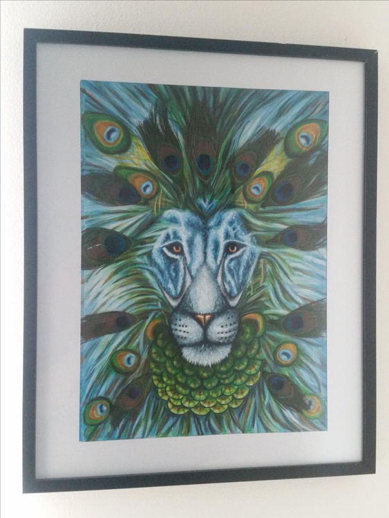 Peacock Lion - Image 0