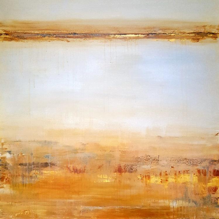 """""""Amber Dunes"""" large 36""""x36"""" - Image 0"""