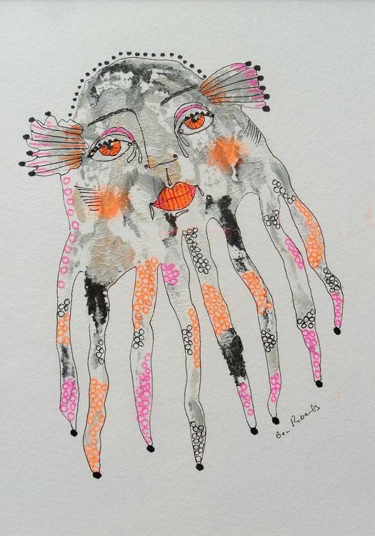 Orange Eyed Octopus - Image 0