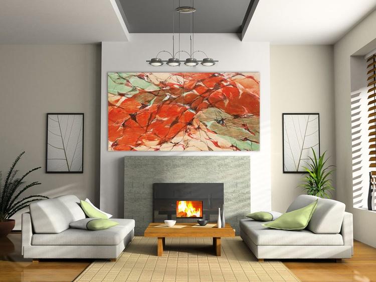 Red Land, 240x140cm - Image 0