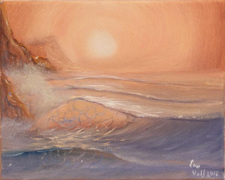 """Tender Sunset 8x10"""" - Image 0"""