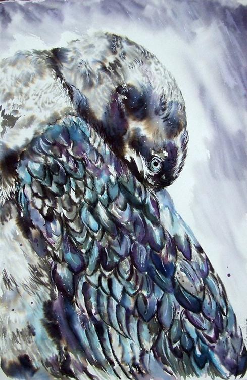 Under the rain / bird - Image 0
