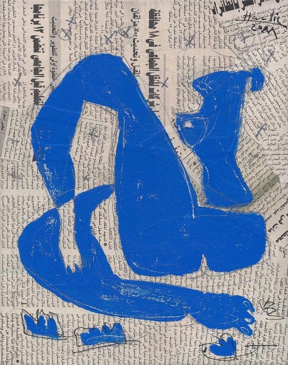 Lea (Blue Nude Girl) - Image 0