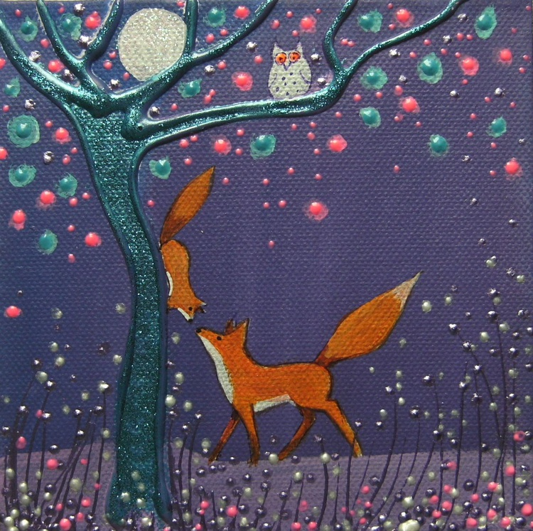 Fox and squirrel ( reserved ) - Image 0