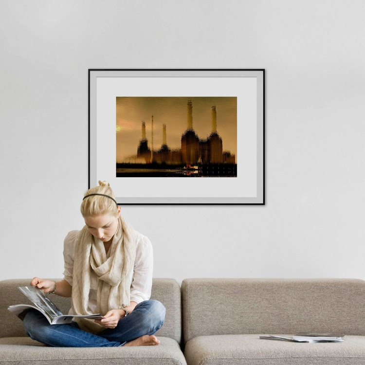 """ORIGINAL BATTERSEA WATER 2006 Limited edition  2/50 30""""x20"""" - Image 0"""