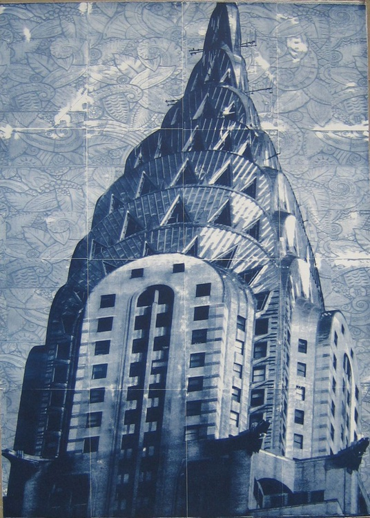 ' Chrysler Bldg. with a Fabric Sky ' - Image 0