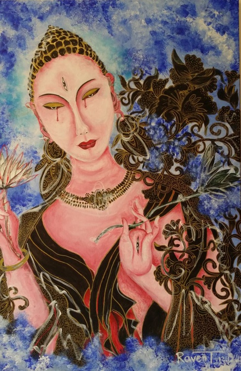 THE GODS ARE CRYING - GUANYIN (觀音) - Image 0