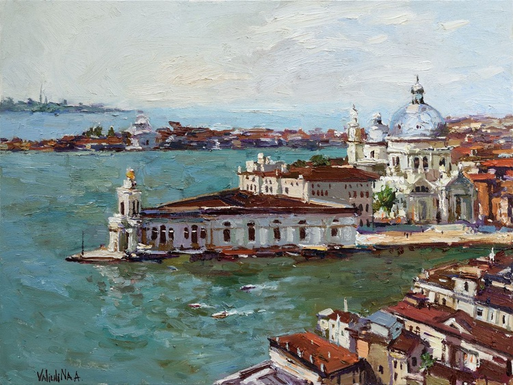 Venice, Italy landscape painting - Image 0