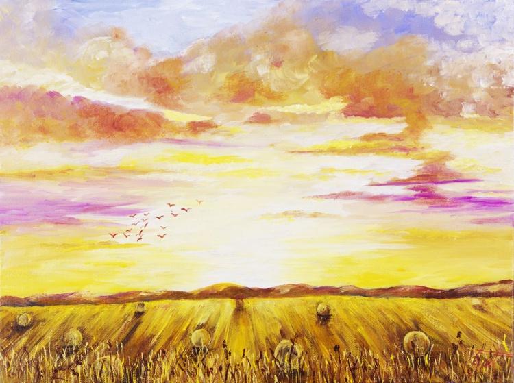 English Harvest Time - Image 0