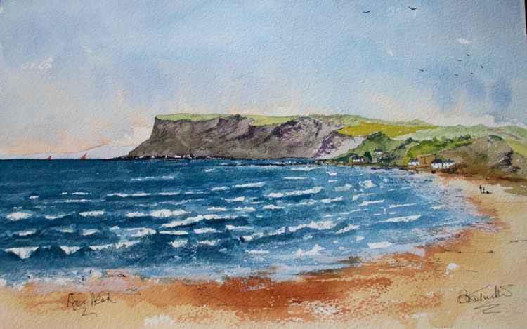 Fair Head on the Antrim Coast. -