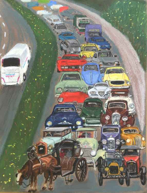 One Hundred Years of Traffic -