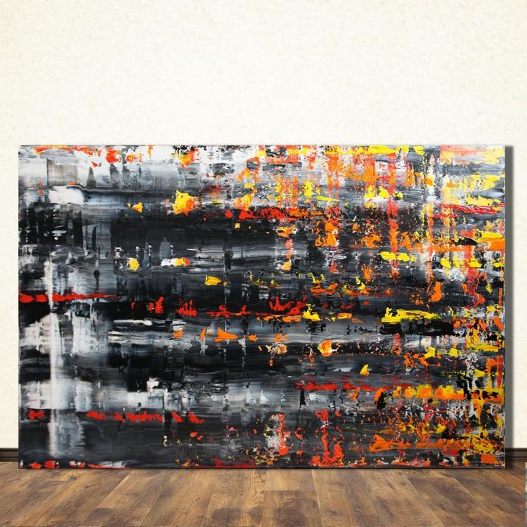 Burning Memories (120 x 80cm) - Image 0